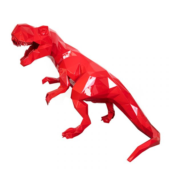 1H907001 Dinosaur Sculpture Art Ornaments (1)
