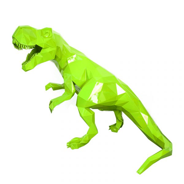 1H907001 Dinosaur Sculpture Art Ornaments (2)