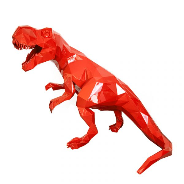 1H907001 Dinosaur Sculpture Art Ornaments (4)