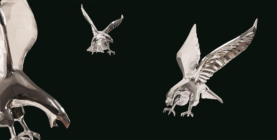 American Eagle Sculpture Resin Custom Maker
