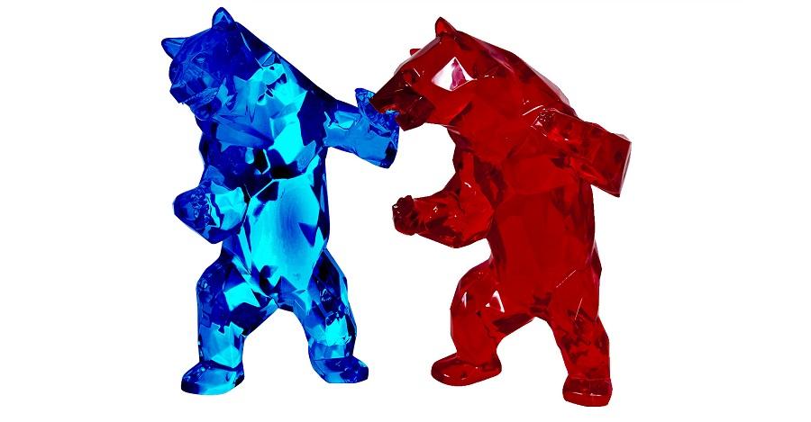 1H911002 Bear Sculpture Art Deco Studio (6)