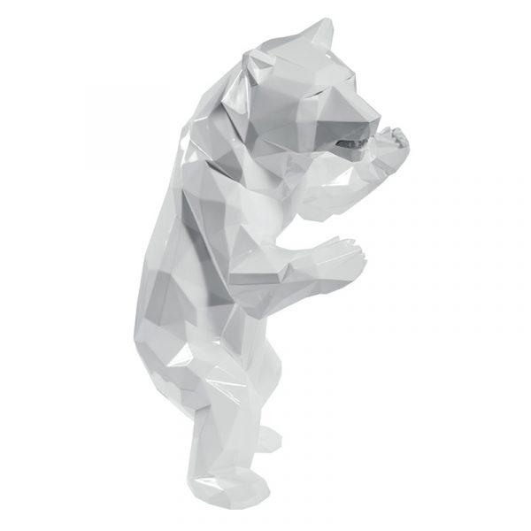 1H911002 Bear Sculpture Stand