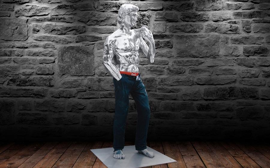 David Sculpture Contemporary Resin (3)