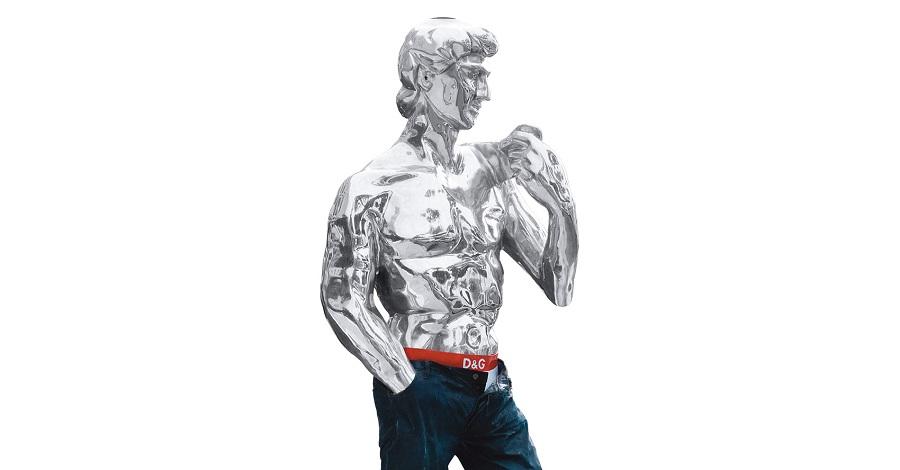 David Sculpture Contemporary Resin (5)