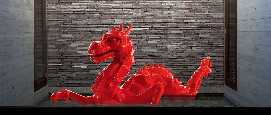 Dragon Garden Statues Resin China Factory (3)