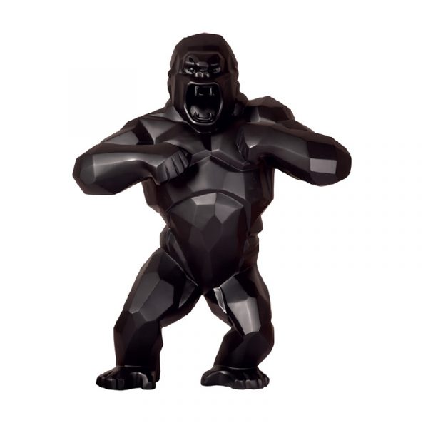 King Kong Sculpture Gooden Resin Company Black
