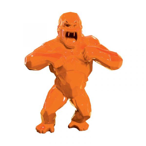 King Kong Sculpture Gooden Resin Company Orange