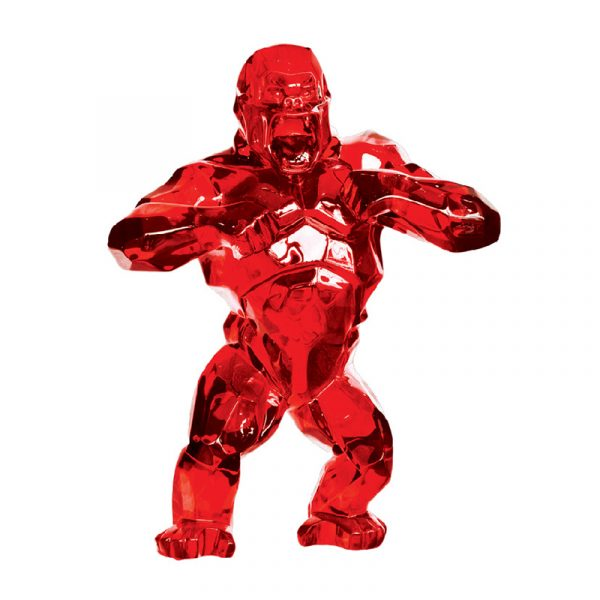 King Kong Sculpture Gooden Resin Company Red