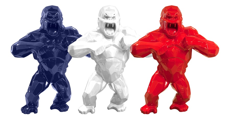 King Kong Sculpture Gooden Resin Company Solid Color