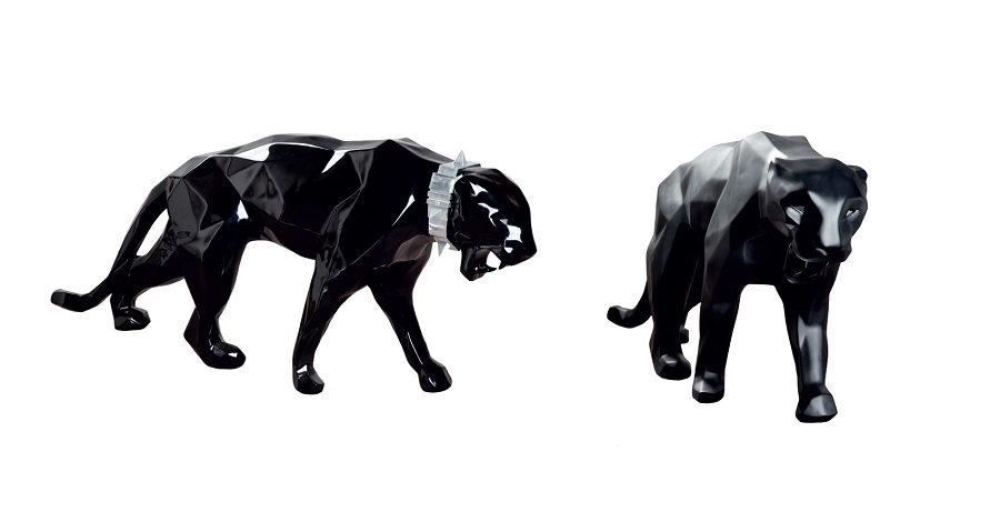 Leopard Sculpture Stainless Steel Supplier (9)