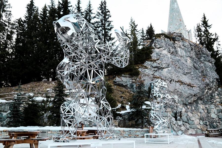 Sculpture Bear Stainless Steel Supplier (2)