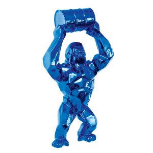 Sculpture King Kong Plated Chrome Maker