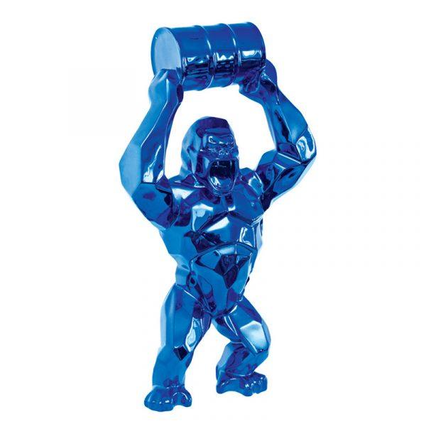 Sculpture King Kong Plated Chrome Maker