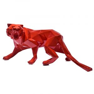 Red Tiger Sculpture For Sale