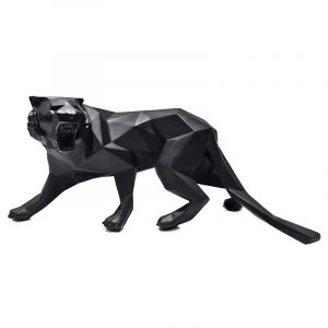 Black Tiger Sculpture For Sale