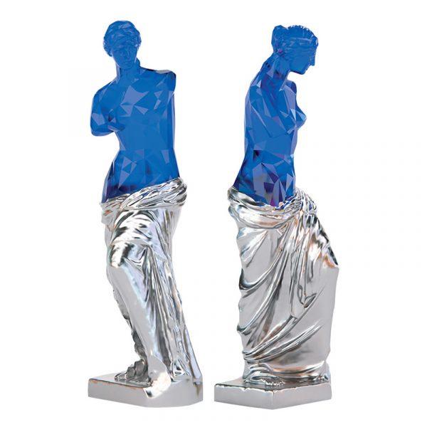 Venus Goddess Sculpture China Company Blue