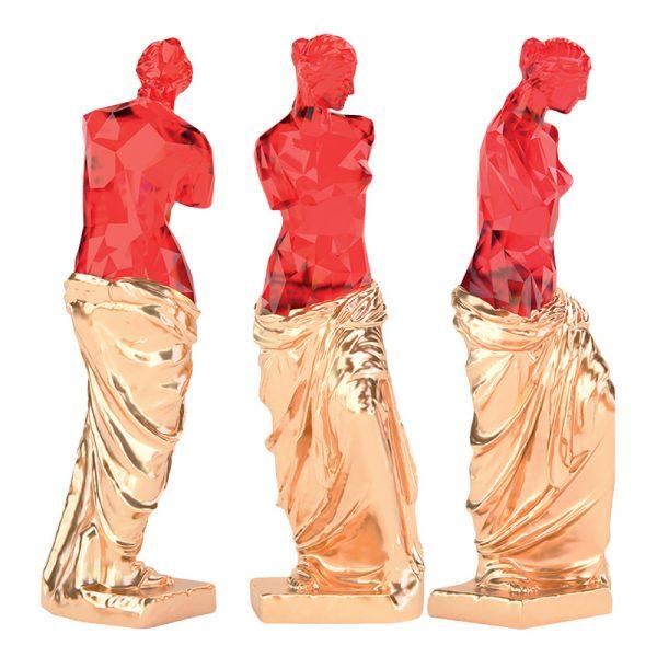 Venus Goddess Sculpture China Company Red