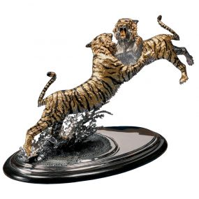 Tiger Bronze Sculpture Customized (1)