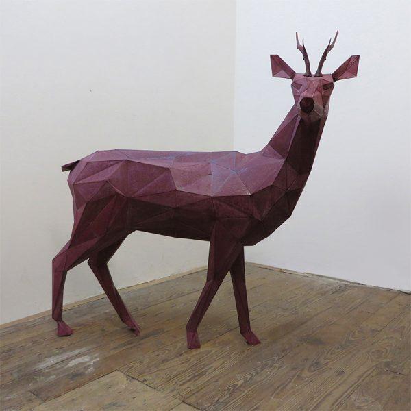 Deer Sculpture Resin Factory (1)