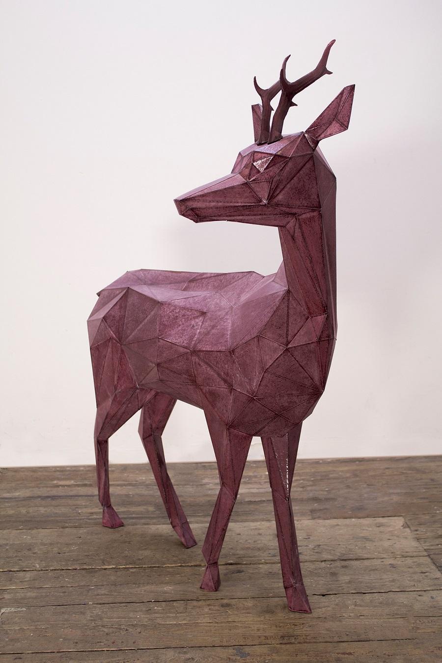 Deer Sculpture Resin Factory (2)