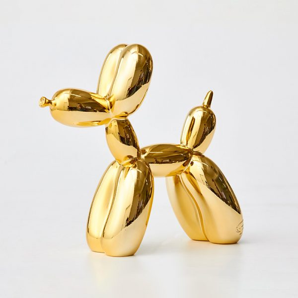 1I625001 Gold Balloon Dog Sculpture For Sale
