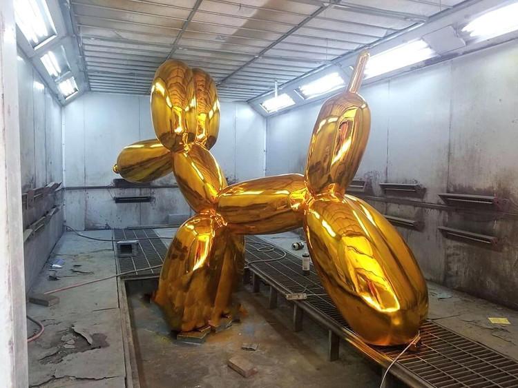 Giant Balloon Dog Sculpture China Maker (2)
