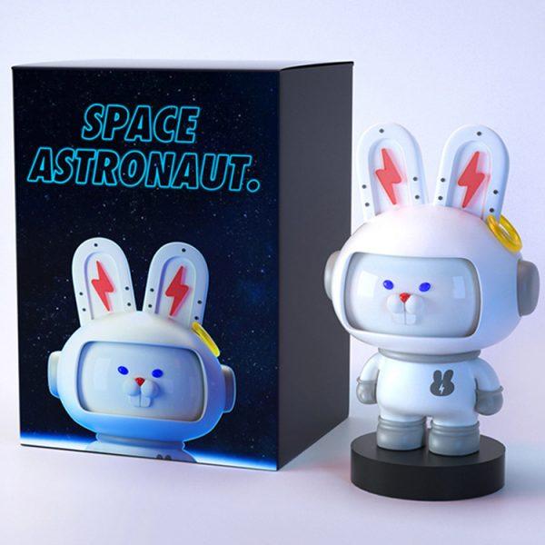 small plastic rabbit figurines (7)