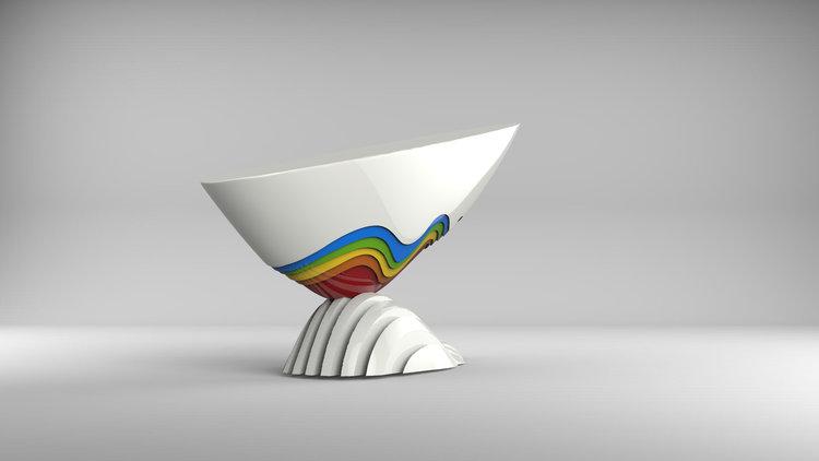 1I709011 modern art sculptures factory (2)