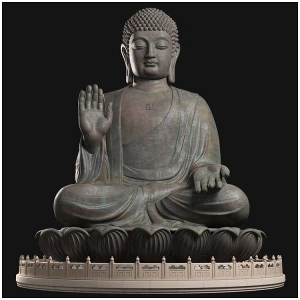 1I711001 tian tan buddha statue (1)