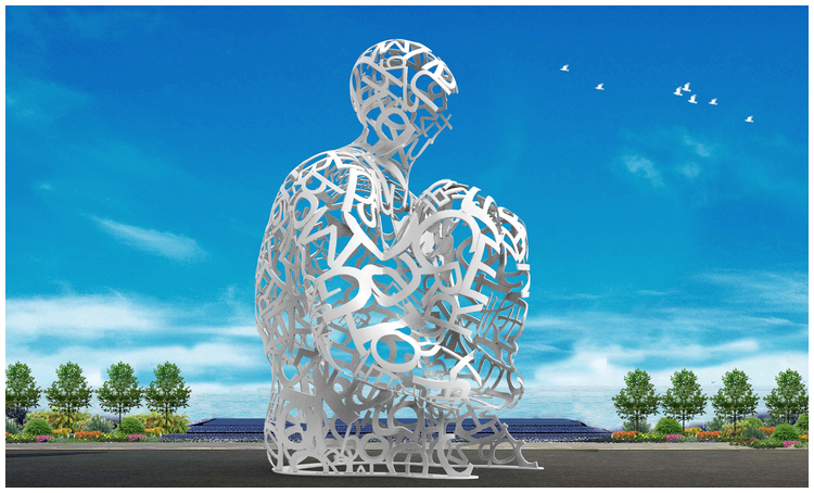 1I709080 sculture in acciaio inox (1)