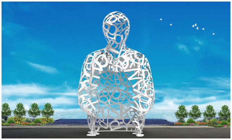 1I709080 sculture in acciaio inox (2)