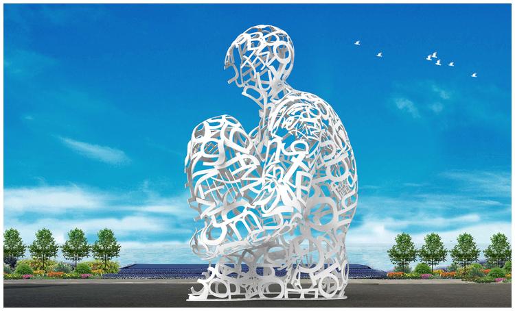 1I709080 sculture in acciaio inox (3)