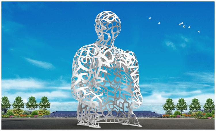 1I709080 sculture in acciaio inox (5)