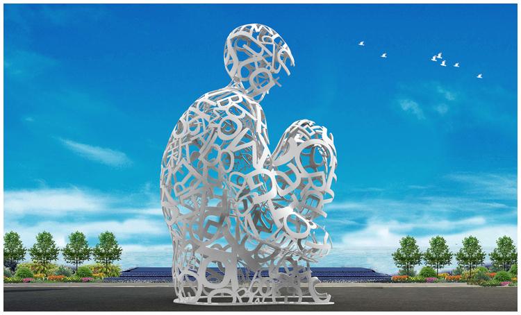 1I709080 sculture in acciaio inox (6)