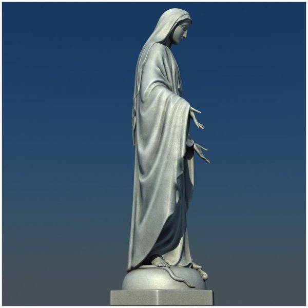 1I711004 virgin mary statue outdoor (10)
