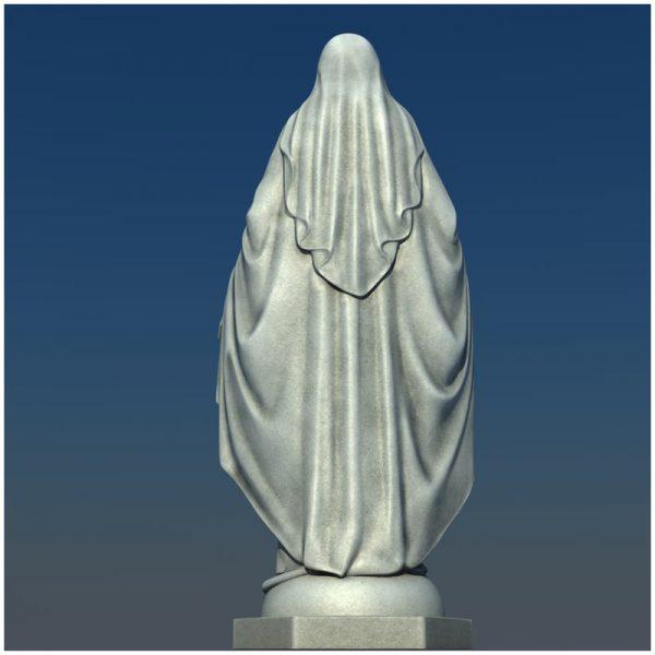 1I711004 virgin mary statue outdoor (11)
