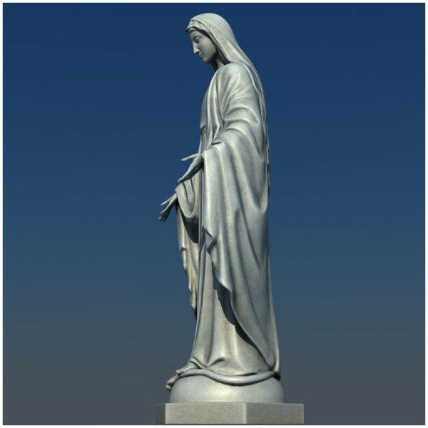1I711004 virgin mary statue outdoor (12)