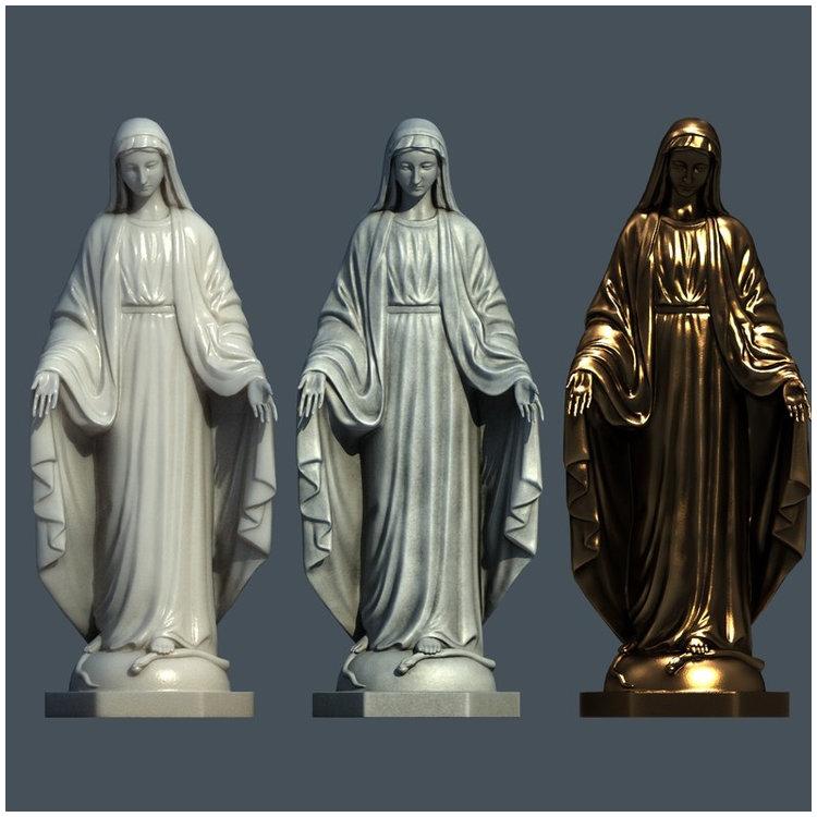 1I711004 virgin mary statue outdoor (8)