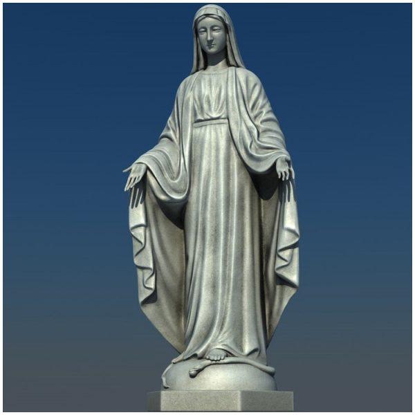 1I711004 virgin mary statue outdoor (9)