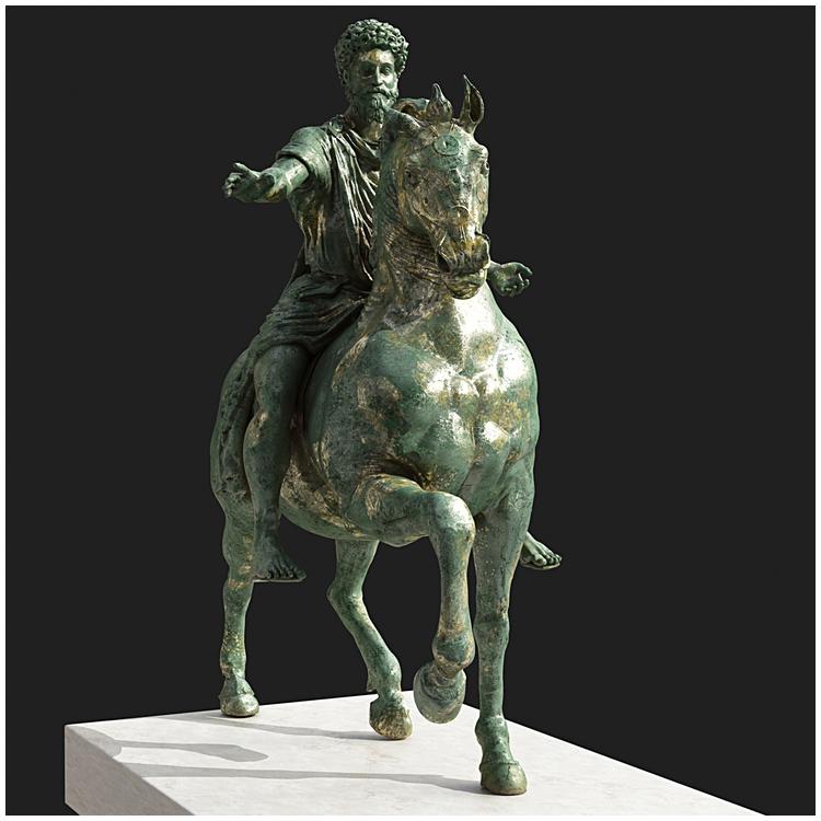 1I711008 Marcus Aurelius Equestrian Statue (17)
