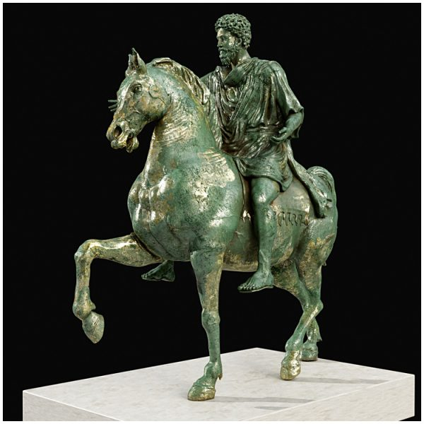 1I711008 Marcus Aurelius Equestrian Statue (18)
