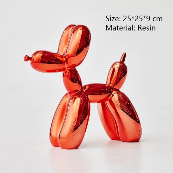 Red Balloon Dog Sculpture Online Sale