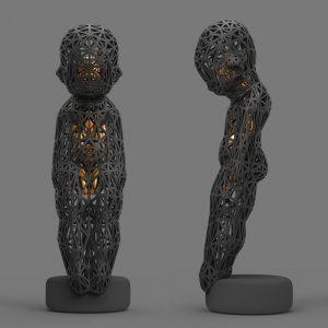 1I709061 3d printed sculpture (1)