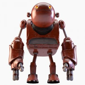 1I716008 metal robot sculpture custom design (10)