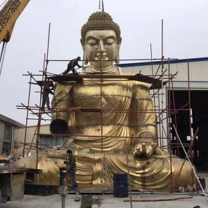 1I726001 large brass buddha statue price (1)