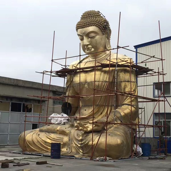 1I726001 large brass buddha statue price (2)