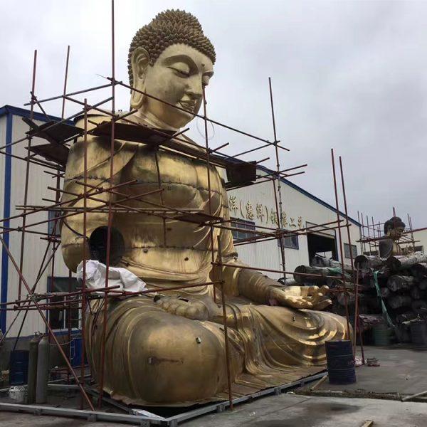 1I726001 large brass buddha statue price (3)