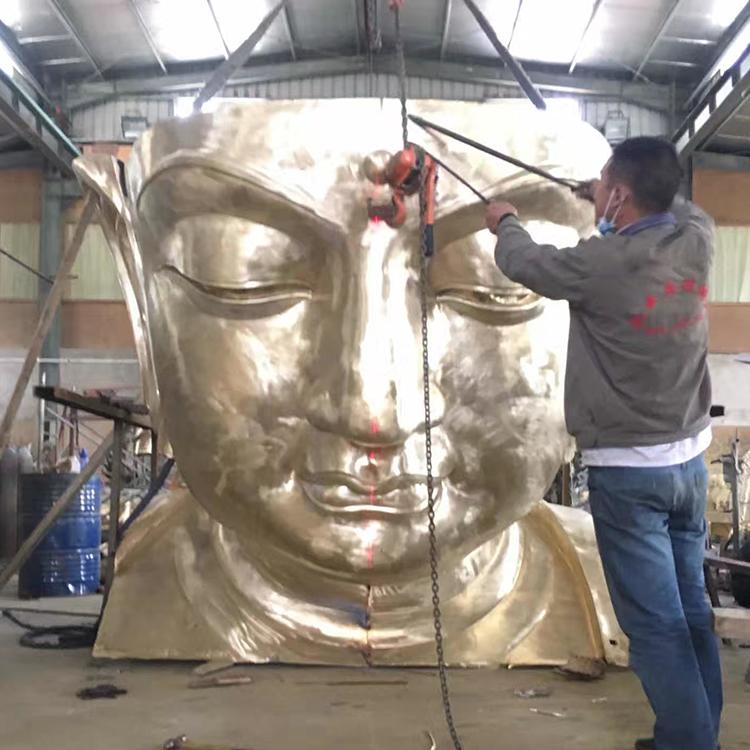 1I726001 large brass buddha statue price (4)