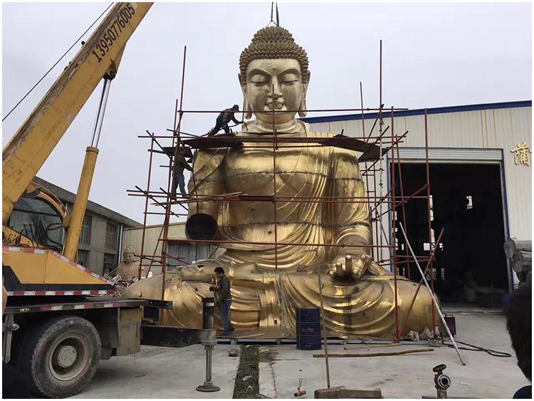 1I726001 large brass buddha statue price (5)