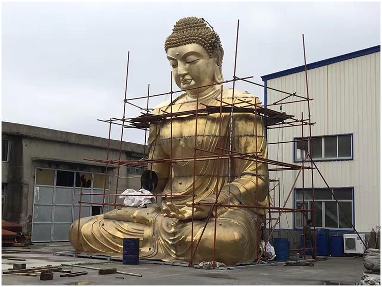 1I726001 large brass buddha statue price (6)